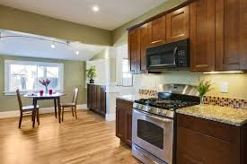 Sears Laminate Flooring Dark Wood Flooring With Natural Cabinets The Best Quality Home Design