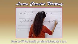 how write cursive handwriting how to write cursive step by step writing small cursive letters