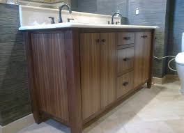 Custom Made Bathroom Vanity Beautiful Custom Made Bathroom Vanities Walnut Harwood Home