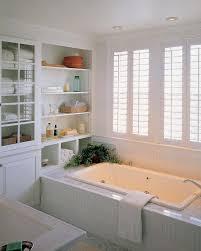 Small Bathroom Shelf Gorgeous Small Bathroom Design With Modern Shelf Close White Wall