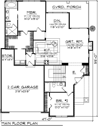 Garage Size 2 Car by House Plans 2 Bedroom House Plans With Garage House Plans 2