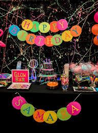 glow party ideas kara s party ideas neon glow birthday party kara s party ideas