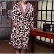 robe de chambre leopard robe de chambre léopard homme déheska achat vente robe de