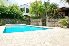 one level home for sale with pool in escazu id code 2924