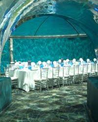 cheap wedding venues indianapolis gorgeous table setup for a wedding in the underwater dolphin dome