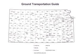 Washington State County Map by Kdot Kansas Official State Maps