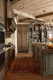 rustic stone kitchen decor natural woven chair black cermic