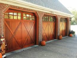 Overhead Shed Doors C H I Overhead Doors Model 5434a Wood Carriage House Style Garage