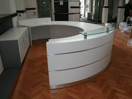 Reception Desk Size by Office Furniture Decoration Reception Office Furniture With