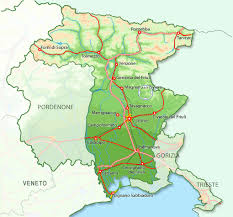 udine italy map in attimis rentals udine available for 10 persons