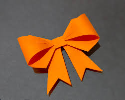 paper ribbon paper bow ribbon ideas for decor origami bow for gift box