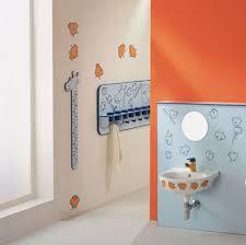 Orange Bathroom Bathroom Admirable Decor Set Ideas For Kids Bathrooms Striped