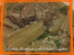 cuisiner des cardes djwaz kherchef cardes sauce blanche recettes algériennes et d
