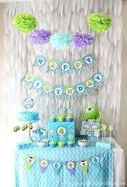 monsters inc baby shower decorations monsters inc birthday party of family home