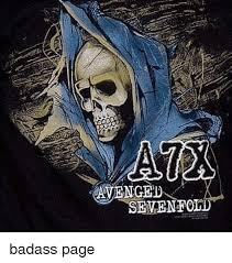Badass Meme Generator - aix avenged badass page meme on me me