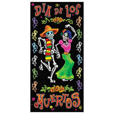 day of the dead door cover accessory 1 count