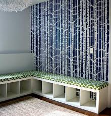 bookcase bench diy bookcase into cushioned bench and storage diy cozy home