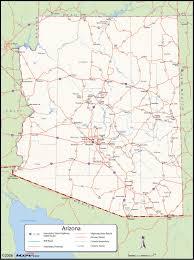 Arizona County Map Arizona County Wall Map Maps Com