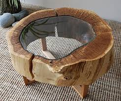 tree ring coffee table oak ring table living rooms and room