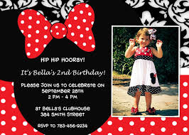 minnie mouse birthday invitations marialonghi com