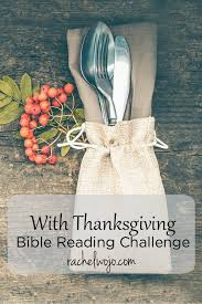 with thanksgiving bible reading challenge rachelwojo