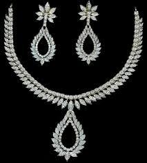 diamond necklace sets images Diamond necklace sets diamond necklaces jawahar nagar jaipur jpg