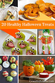 Vegetarian Halloween Appetizers by 20 Healthy Halloween Treats Grassfed Mama