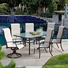 Glass Patio Table Set Outdoor Patio Dining Table And Chairs Best Gallery Of Tables