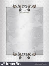 Silver Jubilee Wedding Anniversary Invitation Cards In Hindi Anniversary Invitation Template Graduations Invitations
