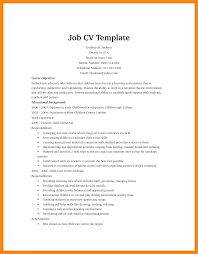 How To Write A Resume For First Job Writing Cv First Job