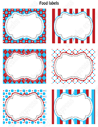 diy dr seuss inspired birthday party printable food labels favor