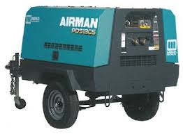 item pds130s 6b4 airman pds130s portable air compressor on