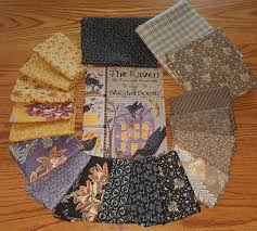 raven pumpkin pattern the raven quilt kit with pattern book by blackbird designs on storenvy