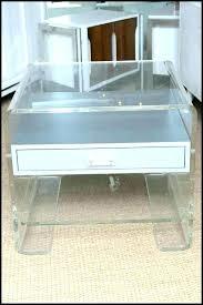 clear acrylic coffee table side tables acrylic side table trillion acrylic side table clear