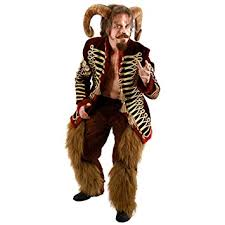 Centaur Halloween Costume Ram Horns Halloween Costume Accessory Headpiece Faun Goat