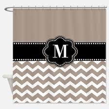 beige shower curtains cafepress