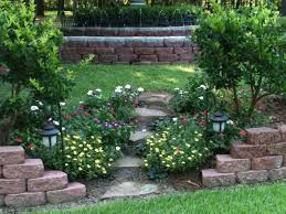 Slope Landscaping Ideas For Backyards Designing Backyard Landscape Design Ideas