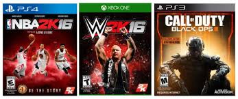nba 2k16 xbox 360 walmart com best buy nba 2k16 wwe 2k16 and call of duty black ops iii only