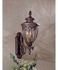 Antique Outdoor Lights by Minka Lavery 8921 Saint Lawrence 9 Inch Wide 3 Light Outdoor Wall