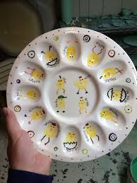 ceramic egg plate 68 best egg plate ideas images on deviled eggs