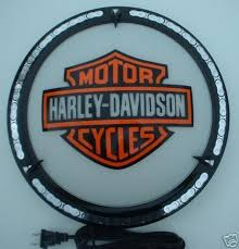 harley davidson lighted signs harley davidson lighted sign wall lamp from locolamps 27055749