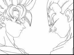 magnificent dragon ball goku coloring pages with goku coloring