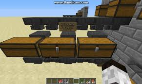 minecraft expandable storage solutions with hoppers and chests
