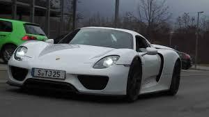 Porsche 918 Convertible - porsche 918 white wallpaper 1280x720 21817