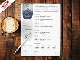 Professional Resumes Templates Free Professional Resume Template Free Psd Psdfreebies Com