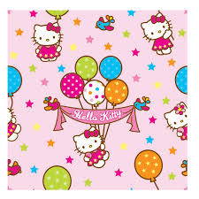 hello kitty with balloons clipart 22