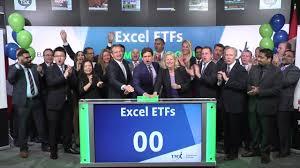 excel etfs opens toronto stock exchange may 24 2017 youtube