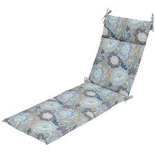 Plantation Patterns Seat Cushions by Hampton Bay Chaise Lounge Cushions Outdoor Cushions The Home