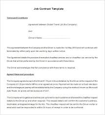 temporary employment contract employee contracts temporary