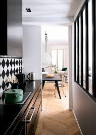 cuisine sol blanc cuisine avec sol noir photos de design d intérieur et décoration